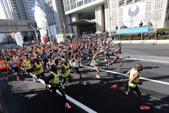 東京マラソンが再延期
